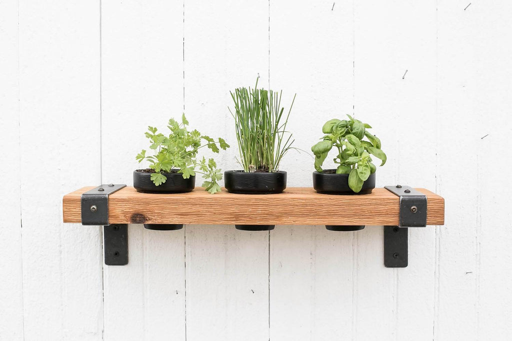 Shelf Planter - Timber Made Design Co