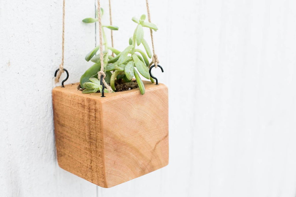 Hanging Planter - Timber Made Design Co