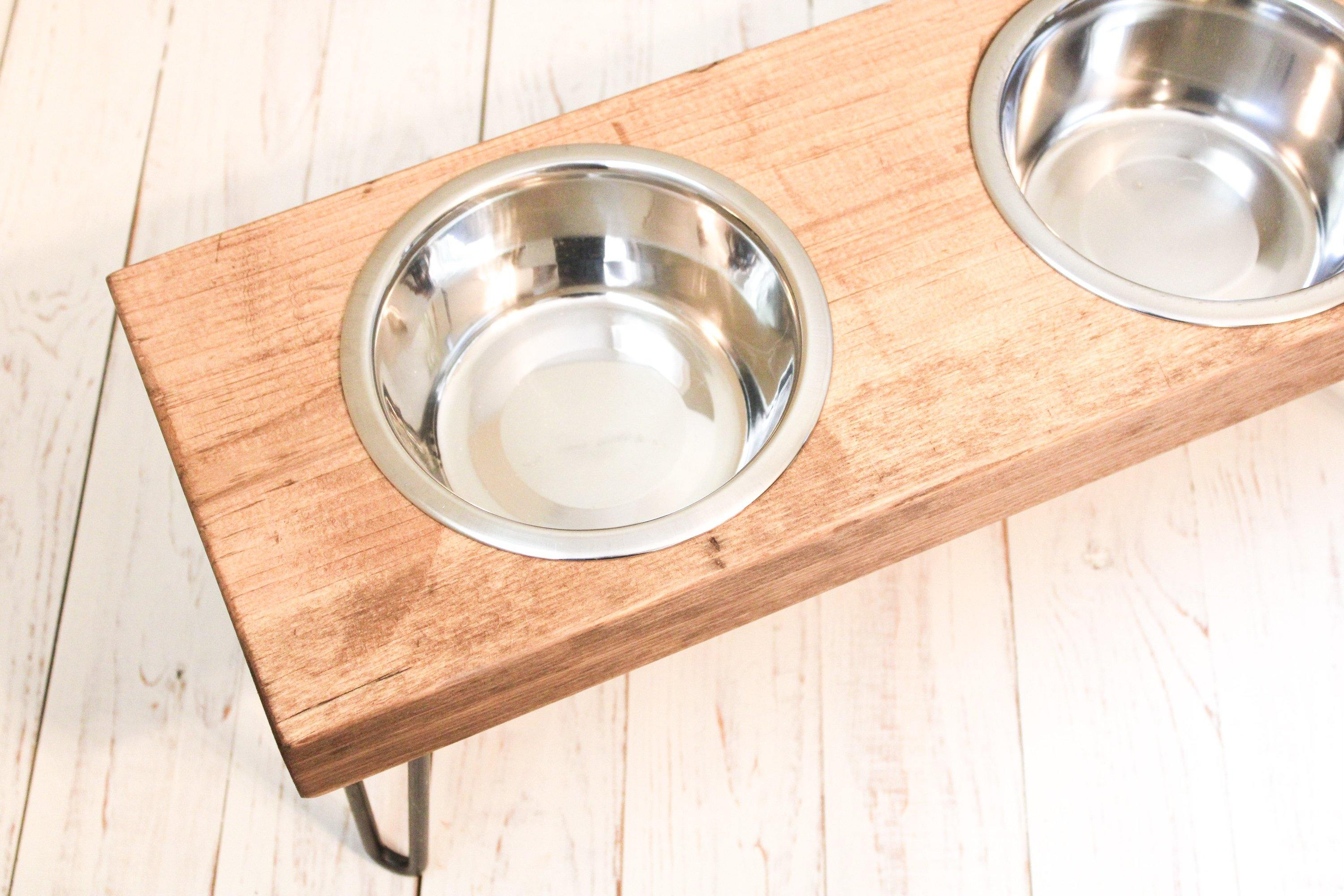 Dog Bowl Stand - Timber Made Design Co