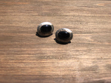 Load image into Gallery viewer, Black Onyx Leverback Post Earrings