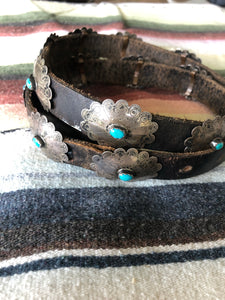 Beautiful Old Pawn Concho belt