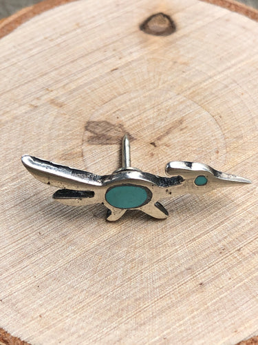 Roadrunner Inlay Tie Tac/ Hat Pin