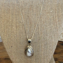 Load image into Gallery viewer, White Buffalo Pendant
