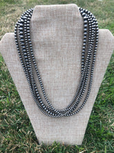 Load image into Gallery viewer, 5 Strand Navajo Pearl Necklace