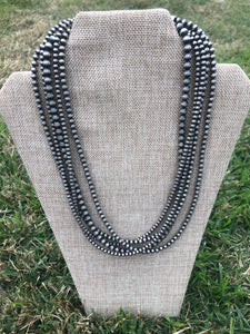 5 Strand Navajo Pearl Necklace