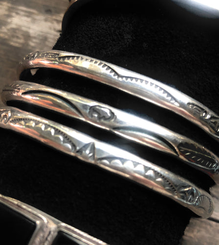 Traditional Stamped Cuffs
