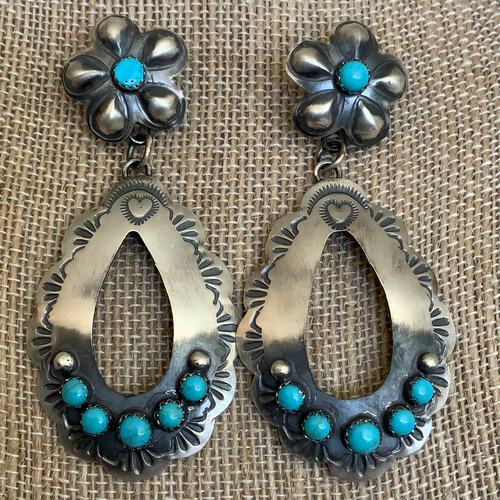 Large Repose Statement Earrings