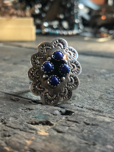 Stamped Concho Ring