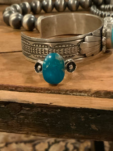 Mark Barney Kingman Turquoise Ring