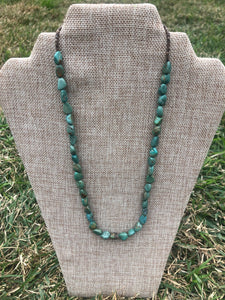 Nugget Turquoise Necklace