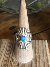 Load image into Gallery viewer, Sandcast Turquoise Ring