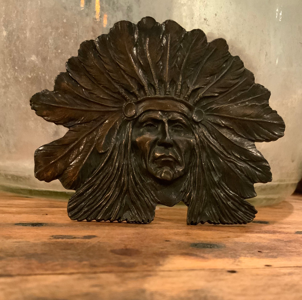 Indian Chief Belt Buckle