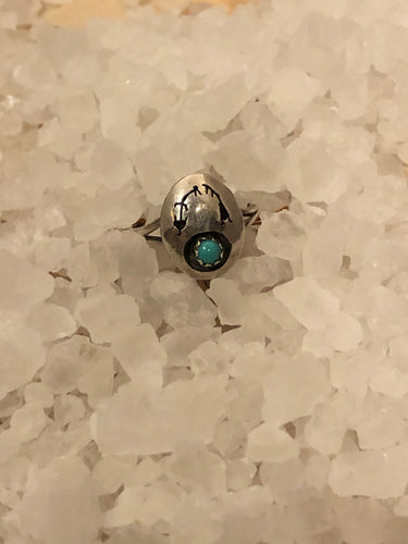 Rainbow Man Turquoise Ring