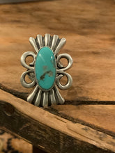 Load image into Gallery viewer, Greg James Kingman Turquoise Ring