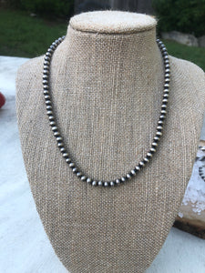 Navajo Pearl Necklace 16""