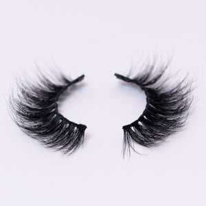 3D Mink Magnetic Lashes use with magnetic eyeliner