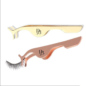 GOLD LASH APPLICATOR Tweezer Lash Applicator for False Lashes