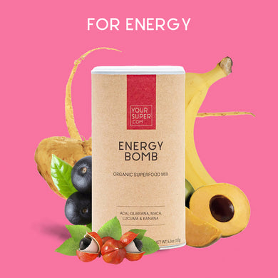 Your Super Organic Energy Bomb