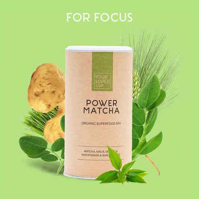 Your Super Organic Power Matcha