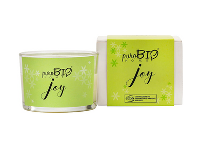 PuroBIO HOME Organic Candle Joy