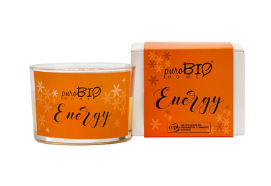 PuroBIO HOME Organic Candle Energy