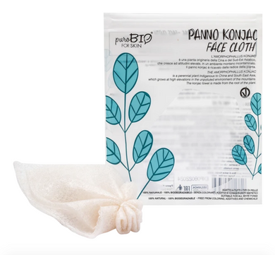 PuroBIO Konjac Face Cloth