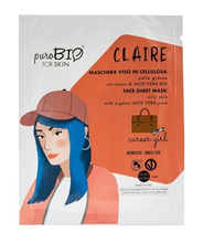 Last opp bilder til galleri, PuroBIO Sheet Mask Career Girl