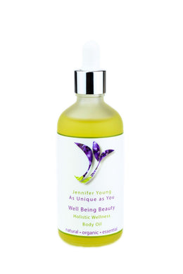 Well Being Holistic Wellness Body Oil