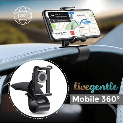 Mobile 360° universal phone holder -> the one and only! LivegentleUS