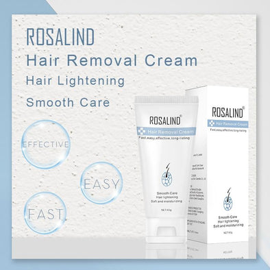 "Rosalind Hair Removal Cream ""ExHairNatural"" livegentle"