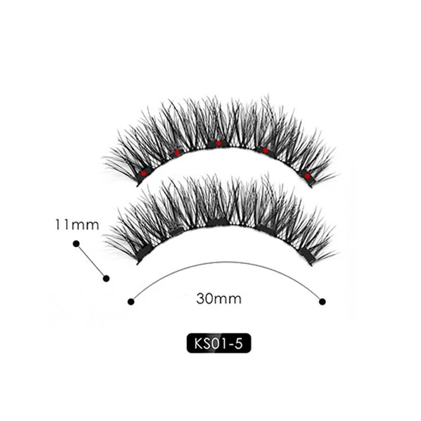 Superstar Glam Lashes ▶ Extra Lashes LivegentleUS Paris KS01