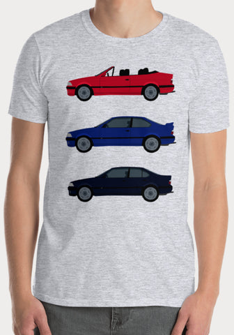 T-Shirt BMW M3 E36 Berline Coupé Cabriolet - XR11 Auto