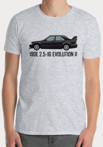 T-Shirt Mercedes-Benz 190E 2.5-16 Evolution II - XR11 Auto