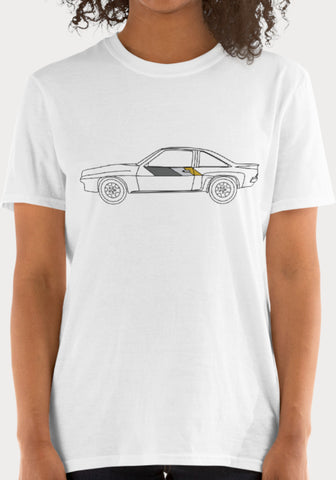 T-Shirt Femme Opel Manta 400 - XR11 Auto Rallye Sport Automobile Pilotage Youngtimers