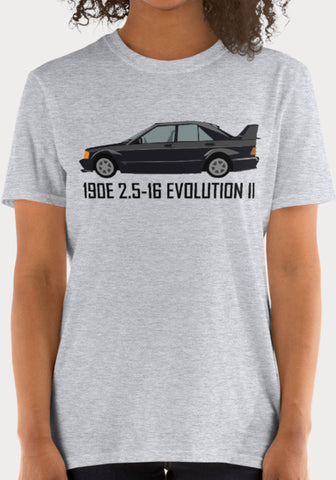 T-Shirt Femme Mercedes-Benz 190E 2.5-16 Evolution II - XR11 Auto
