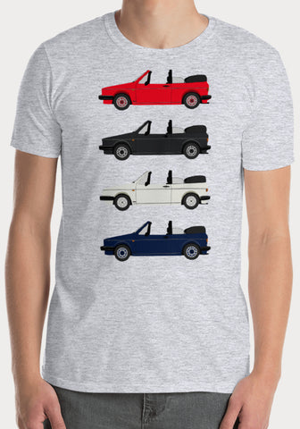 T-Shirt Volkswagen Golf 1 Cabriolet COLOR - XR11 Auto