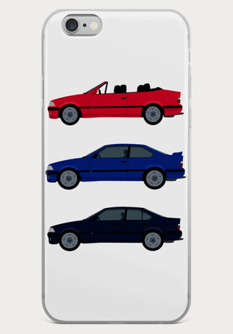 Coque Iphone BMW M3 E36 Berline Coupé Cabriolet - XR11 Auto