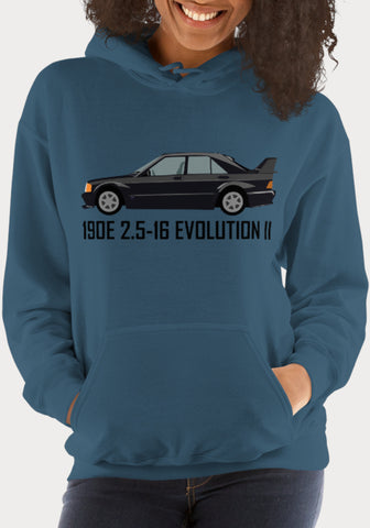 Sweat à capuche Femme Mercedes-Benz 190E 2.5-16 Evolution II - XR11 Auto