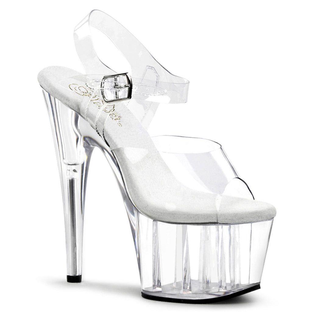 Adore 708 Clear Platforms