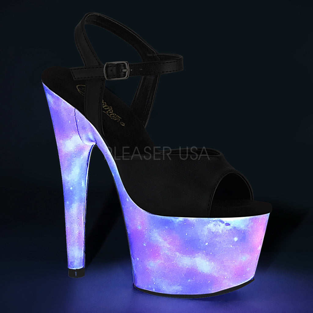 Adore 709REFL Black & Galaxy Platforms