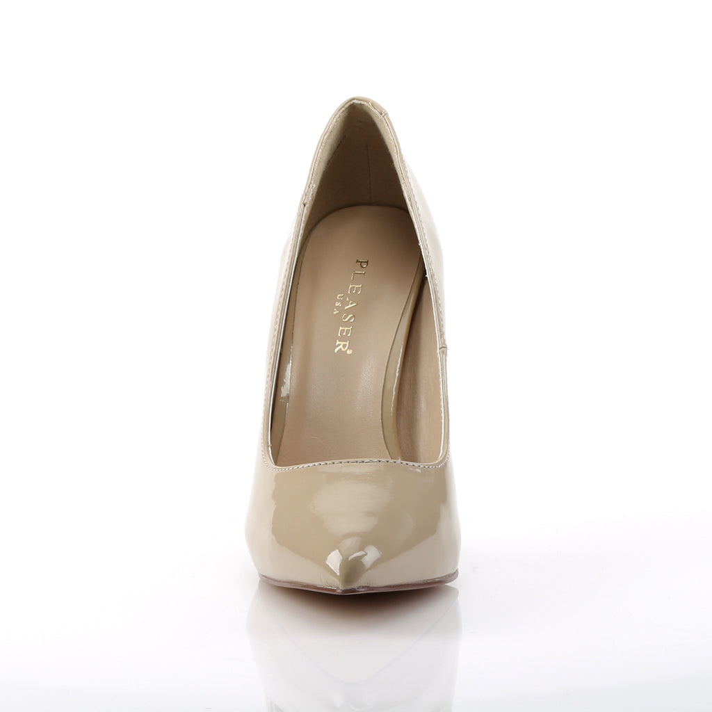 Amuse 20 Cream Patent Court Shoes