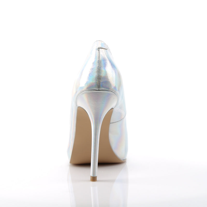 Amuse 20 Silver Hologram Court Shoes