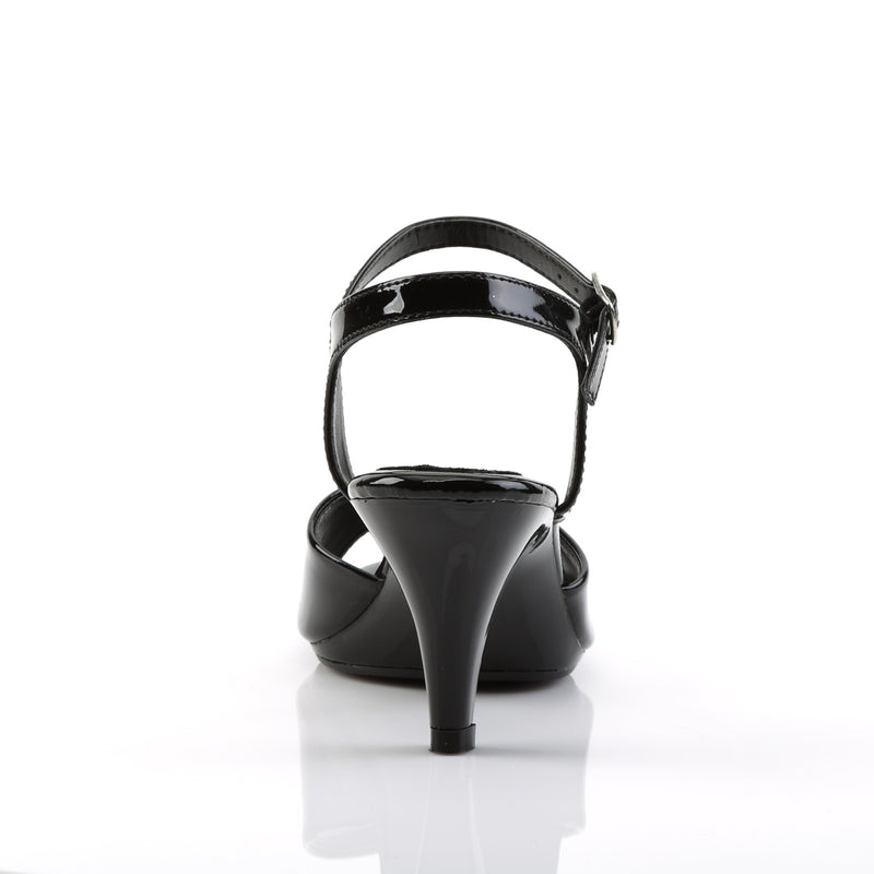 Belle 309 Black Patent Sandals