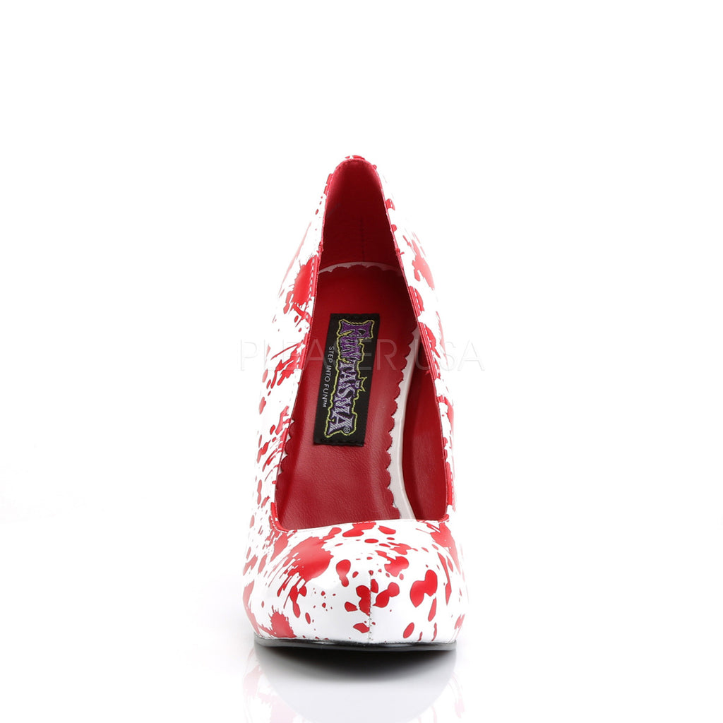 Bloody 12 Blood Spattered Zombie Pumps
