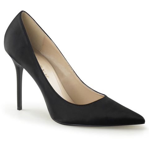 Vanity 402 Black Patent Court Shoes