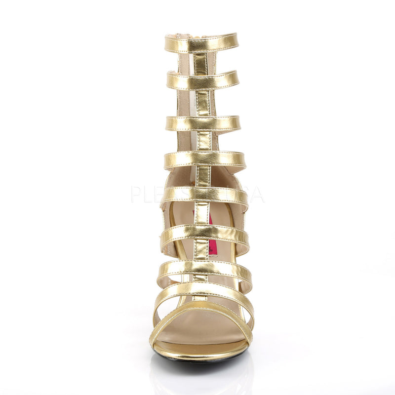 Dream 438 Gold Gladiator Heels
