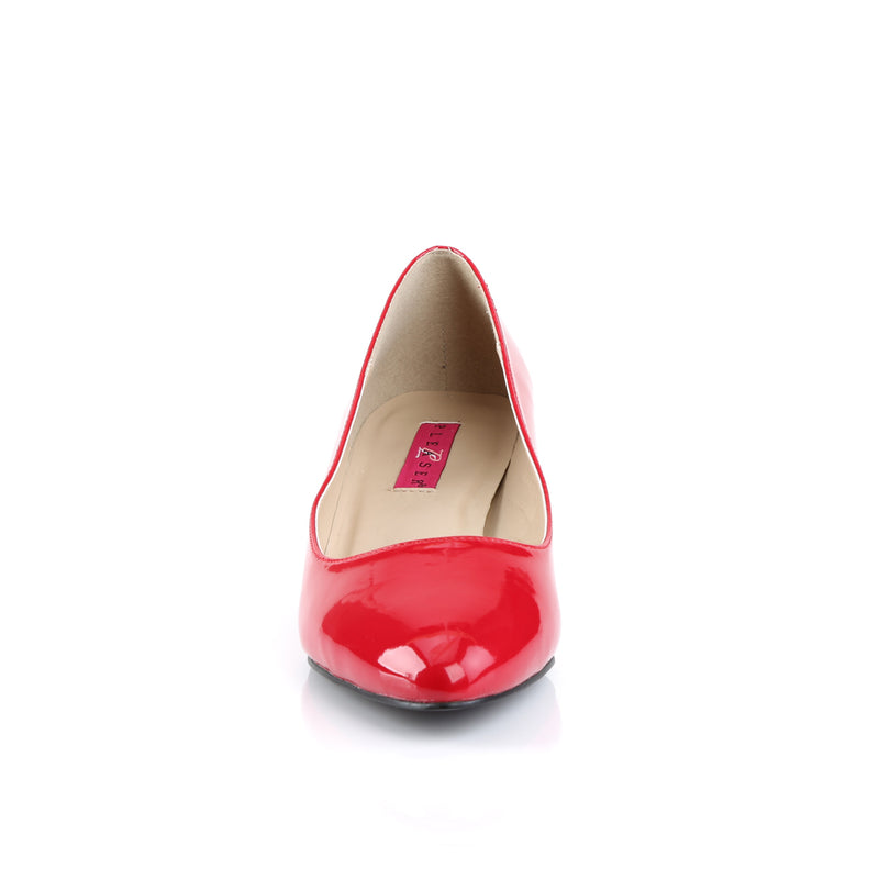 Fab 420 Red Patent Pumps