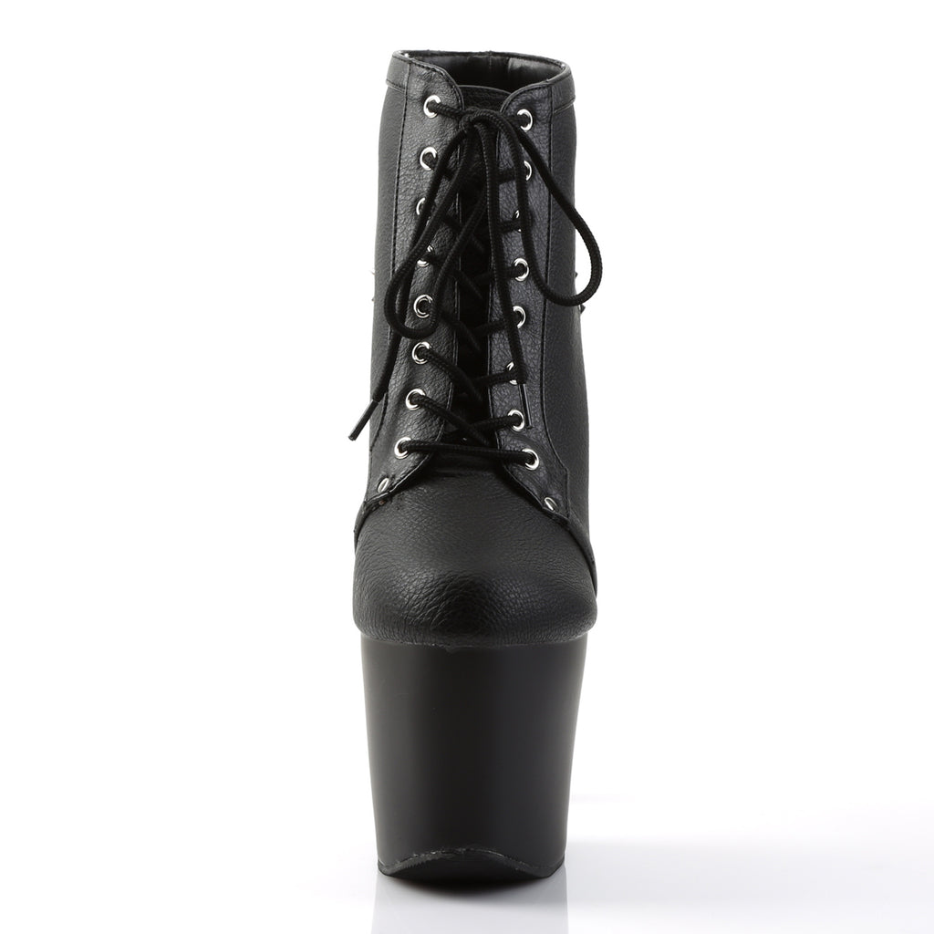 Fearless 700-28 Black Matte Spiked Boots