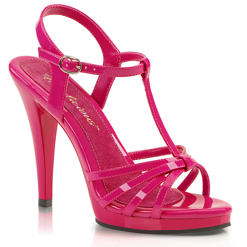 Flair 420 Pink Patent Strappy Sandals