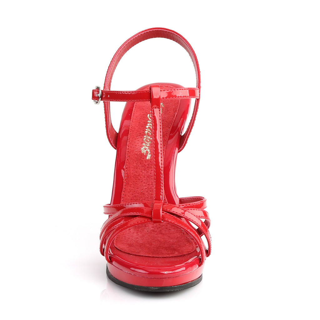 Flair 420 Red Patent Strappy Sandals